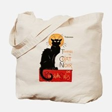 Tournee du Chat Steinlen Black Cat Tote Bag