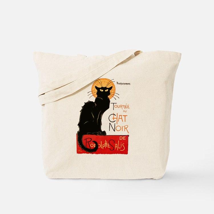 Tournee du Chat Steinlen Black Cat Tote Bag