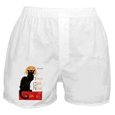 Tournee du Chat Steinlen Black Cat Boxer Shorts