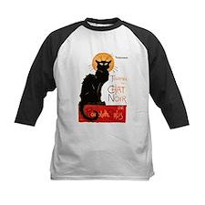 Tournee du Chat Steinlen Black Cat Baseball Jersey