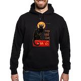 Chat noir Hoodie (dark)