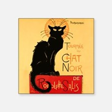 Famous black cat French Sticker