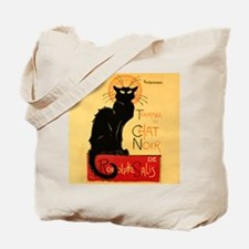 Famous black cat French Tote Bag