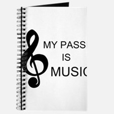 My Passion Is Music Journal