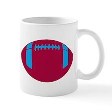 RED BLUE FOOTBALL Mug