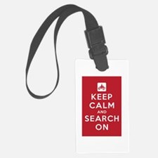 Keep Calm and Search On (ATV Team) Luggage Tag