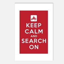 Keep Calm and Search On (ATV Team) Postcards (Pack
