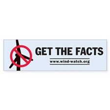 Get the Facts Bumper Bumper Sticker