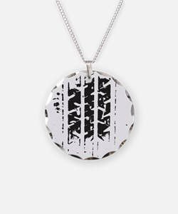 Tire Track Necklace
