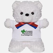 Tonight Im Irish Teddy Bear