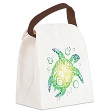 Sea Turtle Canvas Lunch Bag