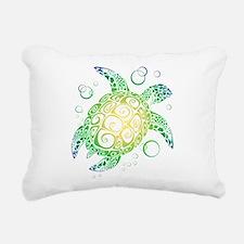 Sea Turtle Rectangular Canvas Pillow