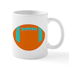 ORANGE BLUE FOOTBALL Mug