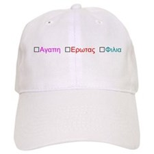 Know your Greek Baseball Baseball Cap