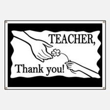 Teacher, Thank You! Banner