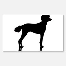 Poodles Are Perfect Decal