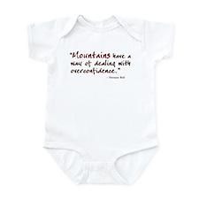 'Mountains' Infant Bodysuit