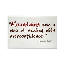 'Mountains' Rectangle Magnet (10 pack)