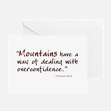 'Mountains' Greeting Card