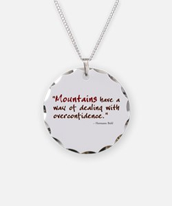 'Mountains' Necklace