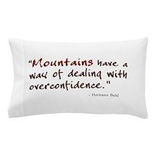 'Mountains' Pillow Case