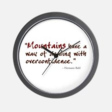 'Mountains' Wall Clock