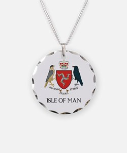 Isle of Man coat of arms Necklace