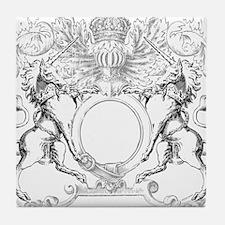 Unicorns Crest Tile Coaster