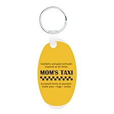 Unique Taxi Keychains