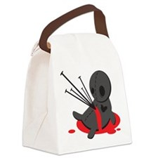 Voodoo Doll Canvas Lunch Bag