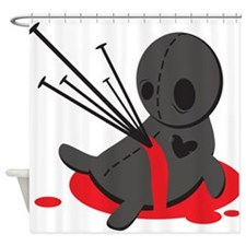 Voodoo Doll Shower Curtain