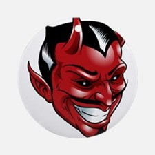 Devil Red Ornament (Round)