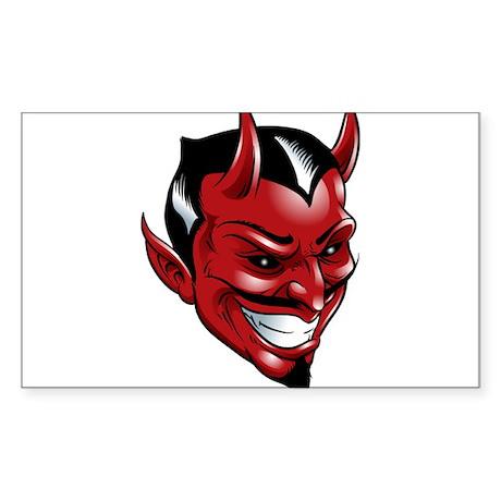 Devil Red Sticker