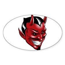 Devil Red Decal