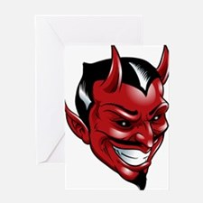 Devil Red Greeting Card