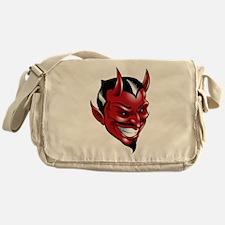 Devil Red Messenger Bag