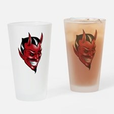 Devil Red Drinking Glass