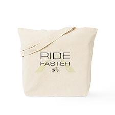 ride faster standard Tote Bag