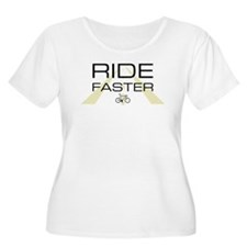 ride faster standard Plus Size T-Shirt