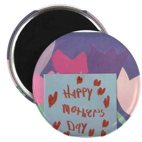 """Happy Mothers Day One. 2.25"""" Magnet (100 pack)"""