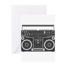 BoomBox Greeting Card