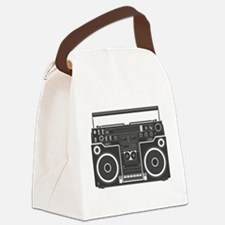 BoomBox Canvas Lunch Bag