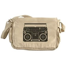 BoomBox Messenger Bag