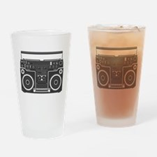 BoomBox Drinking Glass