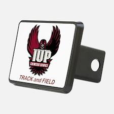 IUP TF Maroon Logo Hitch Cover