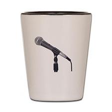 Microphone Shot Glass