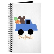 Easter time truck personalized Journal