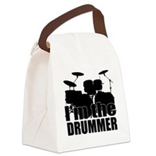 Im the Drummer Canvas Lunch Bag