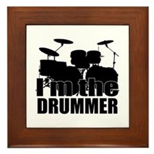 Im the Drummer Framed Tile