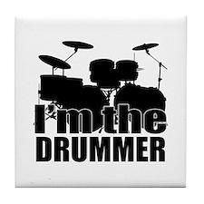 Im the Drummer Tile Coaster